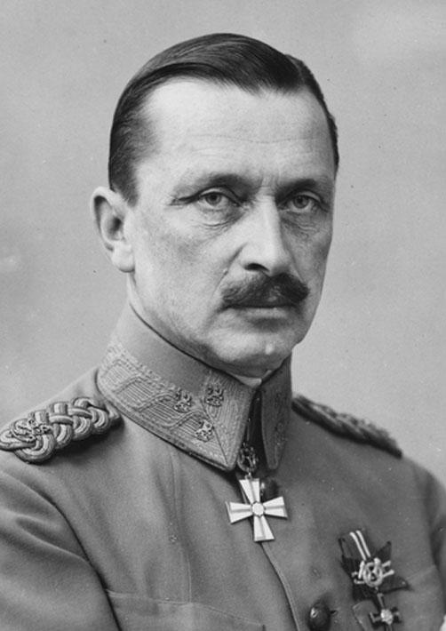 Kenraali C. G. Mannerheim 1919. (Museovirasto)