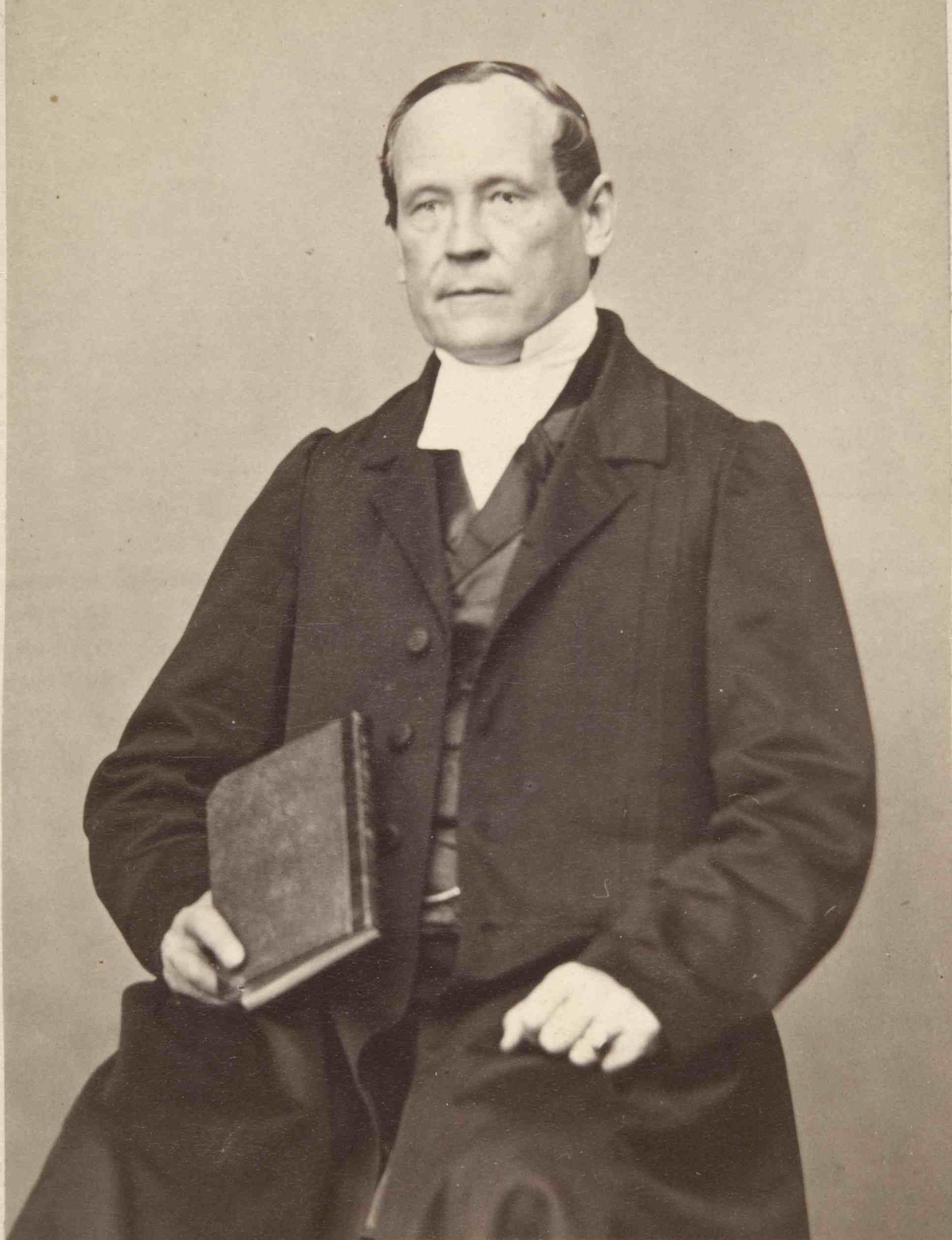 Evankelisen herätysliikkeen perustaja Fredrik Gabriel Hedberg (1811–1893) 1880-luvulla otetussa kuvassa. (Suomen Luterilainen Evankeliumiyhdistys)