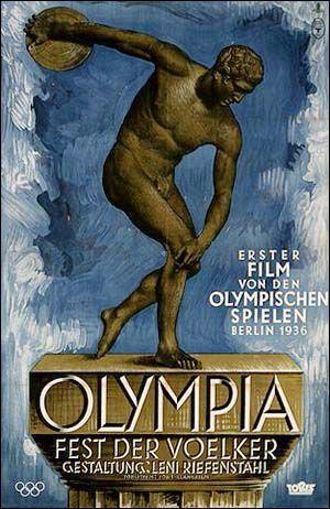 Ensimmäinen Leni Riefenstahlin olympiakuvista oli nimeltään Fest der Völker (Kansojen juhla). Toinen sai nimen Fiest det Schönheit (Kauneuden juhla).